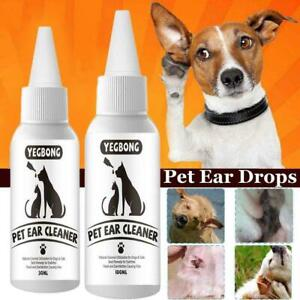 Ear Mite Medicine Lotion Dog Cat All Natural Insecticide F3U8