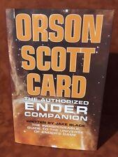 Orson Scott Card The Authorized Ender Companion Jake Black HC DJ Like New