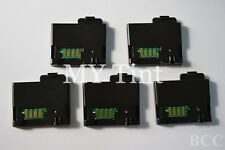 5 x Toner Chip+ Chip Cover For Xero Phaser 6010 6000 6010N Workcentre 6015 6015N