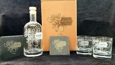 More details for kraken decanter gift box set for 2 can be personalised with message .