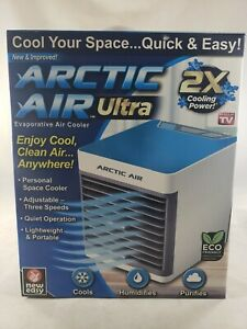 Ontel Arctic Air Ultra Evaporative Portable Air Conditioner Cooler LED Light