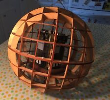 """Large Sphere """"AS 400 ORB"""" Sculpture Abstract Modern Contemporary Art S. Harkola"""