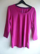 Ladies Top, TU clothing, Round Neck, Cerise, Size 16