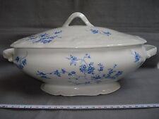 soupière en porcelaine de Sologne 1960 (réf H50)