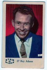 1960s Swedish Film Star Card Star Bilder C #27 Norwegian Singer Ray Adams