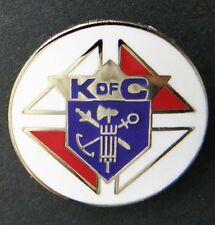 KNIGHTS OF COLUMBUS K OF C FRATERNAL ORGANIZATION LAPEL PIN BADGE 1 INCH