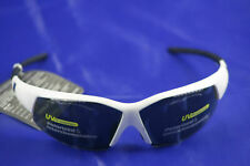 720ARMOUR Sport Goggles Speeder Frame Glossy White Glasses Polarized Smoke