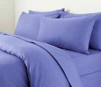 3 Piece Plain Dyed Duvet Quilt Cover Bedding Set Turquoise Single,Double,King