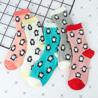 Penguin Animal Cotton Socks For Women Warm Sock Ankle Socks Socks Stockings