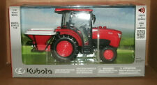 1/18 Scale Kubota L6060 Farm Tractor Toy with Lights & Sounds - New Ray 34173