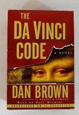 "Dan Brown's ""The Da Vinci Code"" 2003 Audiobook Unabridged On 11 Cassettes"
