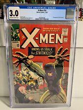 X-Men 14 CGC 3.0 First Sentinels