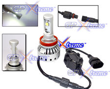 GPXtreme H11 Cree LED 8000LM Lumen Super White Headlamp Honda Dodge Nissian Ford