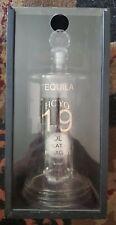 Tequila hoyo 19th hole golf ball liquor decanter on diamond very RARE empty