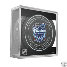 2016 WINTER CLASSIC OFFICIAL HOCKEY GAME PUCK  - Packaged in a puck cube
