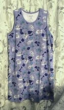 TELEPHONE 100% COTTON NIGHT SLEEP SHIRT NIGHTIE NIGHTGOWN~26/28~2X~3X~NEW