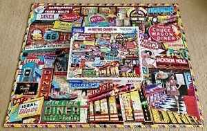 WHITE MOUNTAIN ~ Retro Diner ~ 1000pc Jigsaw Puzzle