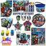 Marvel Avengers Assemble Birthday Party Accessories Decorations Tableware
