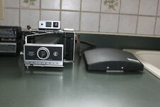 Polaroid Land Camera 360 with Electronic Flash & Land Camera 95A with Flash 202