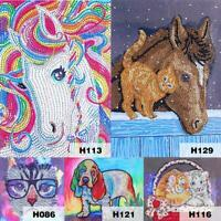 5D DIY Special-shaped Diamond Painting Animal Cross Stitch Embroidery Craft Kit