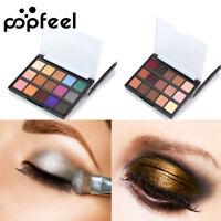 15 Farbe EyeShadow Make-up Kosmetik Schimmer Lidschatten Pigment Matte Palette
