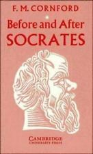 Before & After Socrates by F.M. Cornford | Cambridge Press Greek Philosophy | VG