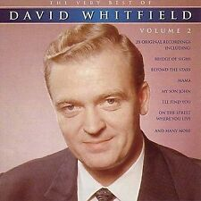 THE VERY BEST OF DAVID WHITFIELD VOLUME 2 - NEW AND SEALED CD  - FREE POST IN UK
