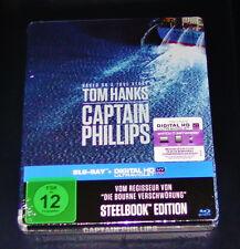 Captain Phillips Limitada Steelbook Blu-ray Más Rápido Envío NUEVO Y EMB. orig.