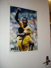 Pele Colour 1970 Brazil Door Poster