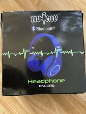 No Fear New Blue Bluetooth Headphones RRP £99.99