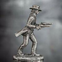 Toy Soldiers American Gunfighter 1/32 scale Wild Bill Hickok Cowboy 54mm Metal