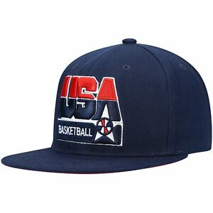 USA Basketball Mitchell & Ness 1992 Dream Team Snapback Hat - Navy