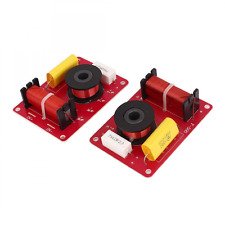 2Pcs 2-Way Crossover Filters Frequency Distributor