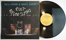 NEIL YOUNG & CRAZY HORSE – Rust Never Sleeps LP Spain N.MINT * Reprise – S 90.14