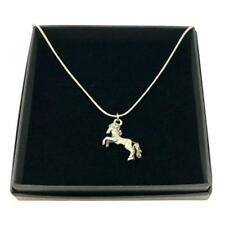 Horse Necklace in Gift Box, Equestrian Jewellery, Gift Boxed, Pony Pendant.