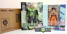 "S.H. Figuarts ""Ultimate Son Gohan + Android 16"" Dragonball Z Action Figure"