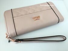 GUESS Huntley Large Zip Around Wallet Color Blush