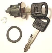NEW FORD LINCOLN OEM Single Trunk/Tailgate Key Lock Cylinder W/2 OEM Keys 703364