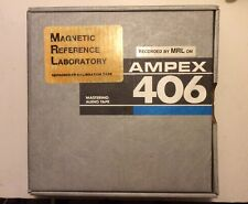 "2"" Magnetic Reference Laboratory/MRL Reproducer Alignment/Calibration Test Tape"