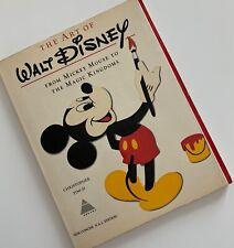 Vintage The Art Of Walt Disney 1973 Christopher Finch