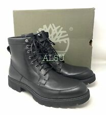 Timberland Elmhurst 6in WP Men Boot Full Grain Leather Black TB 0A23XE 001