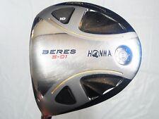 Left-handed 2star HONMA BERES S-01 Loft-10 R-flex Driver Golf Clubs inv 7188