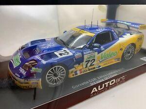 AUTOart 1/18 - Chevrolet Corvette C5R le Mans 2006 3rd GT1 Class #72