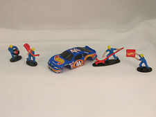Tyco #33584 1998 #44 Hot Wheels Grand Prix Stock Car Shell ~ W/Pit Crew ~ New!