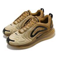 Nike Air Max 720 Desert Gold Wheat Black Men Running Shoes Sneakers AO2924-700