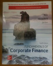 Fundamentals Of Corporate Finance, 12th Edition - ISBN 9781260153590 new other