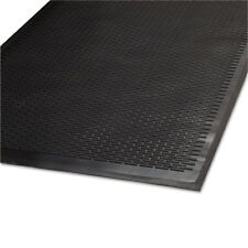 Guardian Clean Step Outdoor Rubber Scraper Mat Polypropylene 36 x 60 Black