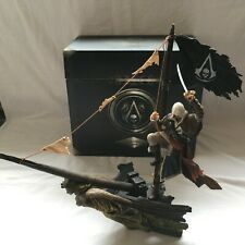 """Assassin's Creed Black Flag Black Chest Collector Edition Xbox 360 French """"RARE"""""""