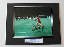 Alan Kennedy In Liverpool Shirt HAND SIGNED Autograph Photo Mount COA Proof