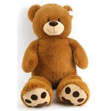 Riesen Teddybär XXL100 cm gro�Ÿ Kuschelbär Kuscheltier Plüschteddy Plüschbär brau